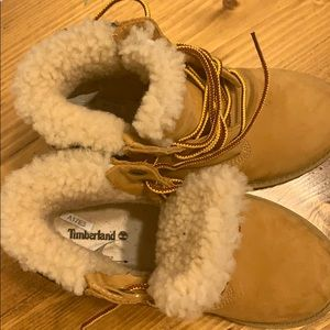 Timberland Shoes - Timberland girl's 13 boots